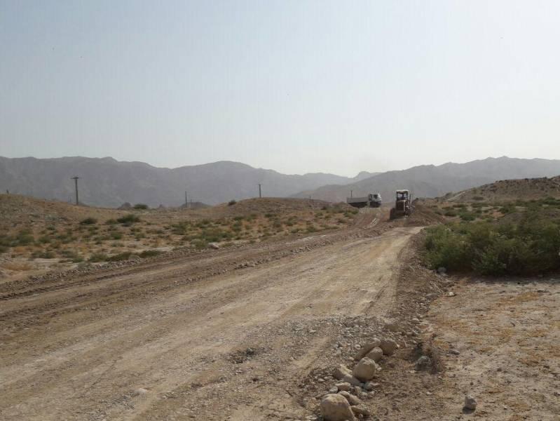 عملیات اجرایی جاده روستایی کشتو به بشک دشتی بوشهر