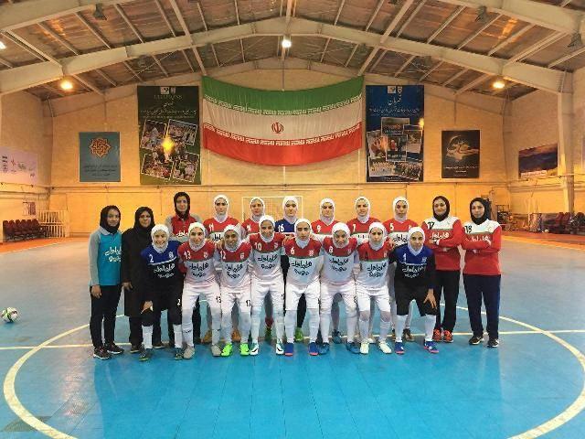 برگزاری دیدار دوستانه تیم های ملی فوتسال بانوان ایران و ایتالیا