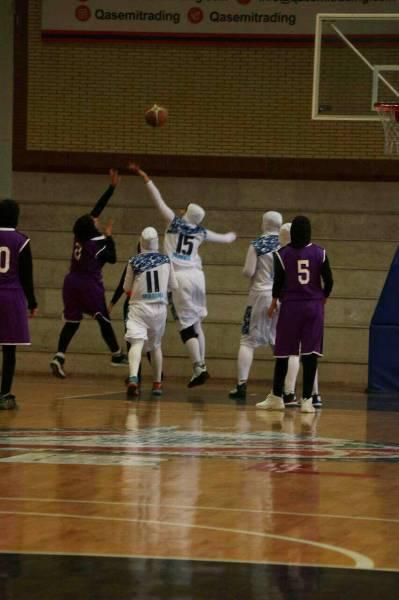 پیروزی بانوان بسکتبالیست گلستان در آغاز رقابت های لیگ