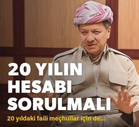 تحلیل کارشناسان و رسانه های خبری ترکیه از استعفای مسعود بارزانی