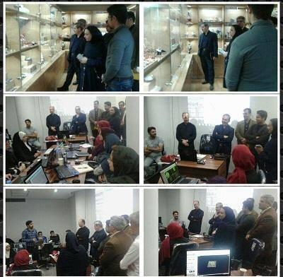 بازدید معاون سازمان صنایع دستی از دبیرخانه شهر جهانی گوهرسنگ ها