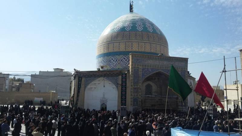 پیاده روی و عزاداری اربعین حسینی درشهرستان گلپایگان