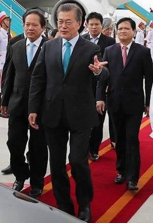 رییس جمهور کره جنوبی نهادینه شدن تجارت آزاد را خواستار شد