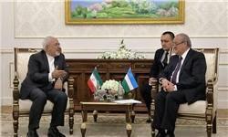 توافق ظریف و وزیر خارجه ازبکستان درباره تهیه نقشه راه همکاریهای دوجانبه