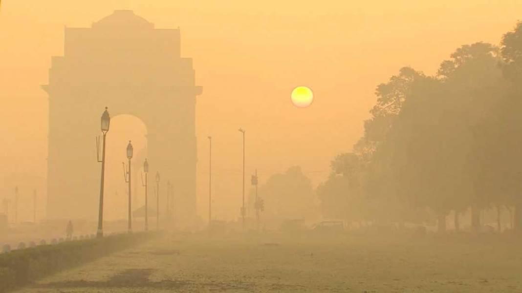 آبپاشی راه حل هند برای پایان دادن به آلودگی مرگبار هوای پایتخت