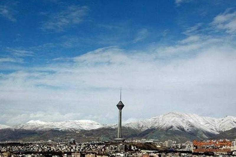 تعطیلات اربعین آسمان تهران را آبی کرد