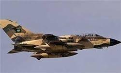 حمله جنگندههای عربستان به ساختمان وزارت دفاع یمن