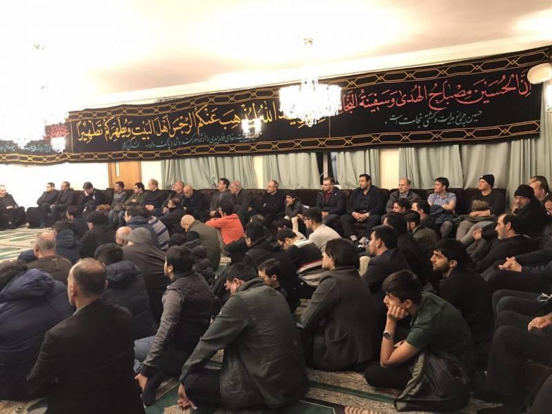 مراسم عزاداری اربعین حسینی در دوبلین برگزار شد