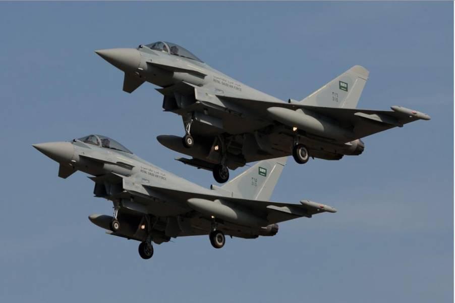 حمله جنگنده های سعودی به ساختمان وزارت دفاع یمن در صنعا