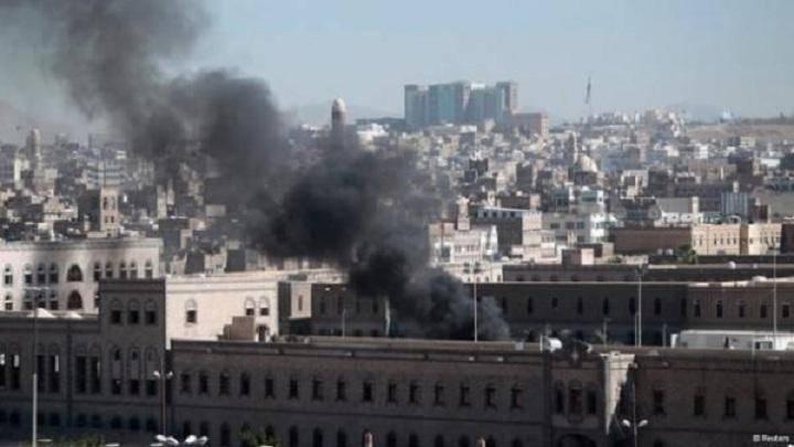 هشت غیر نظامی در حمله هوایی عربستان به صنعا زخمی شدند