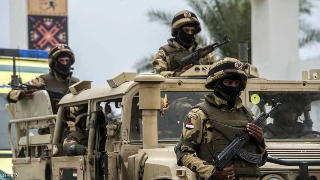 10 تروریست در شبه جزیره سینا کشته شدند