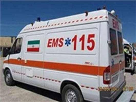 6 نفر در آتش سوزی مدرسه زینبیه خرم آباد مصدوم شدند