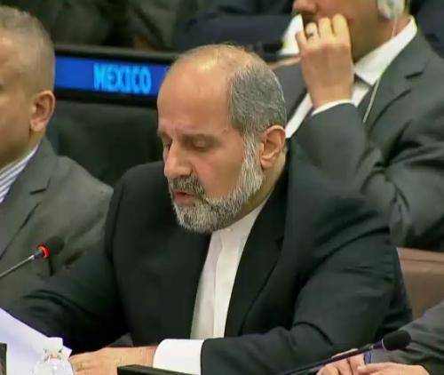 سفیر ایران در سازمان ملل:انتقاد از استانداردهای دوگانه/اقدام کانادا دهن کجی به حقوق بشر است