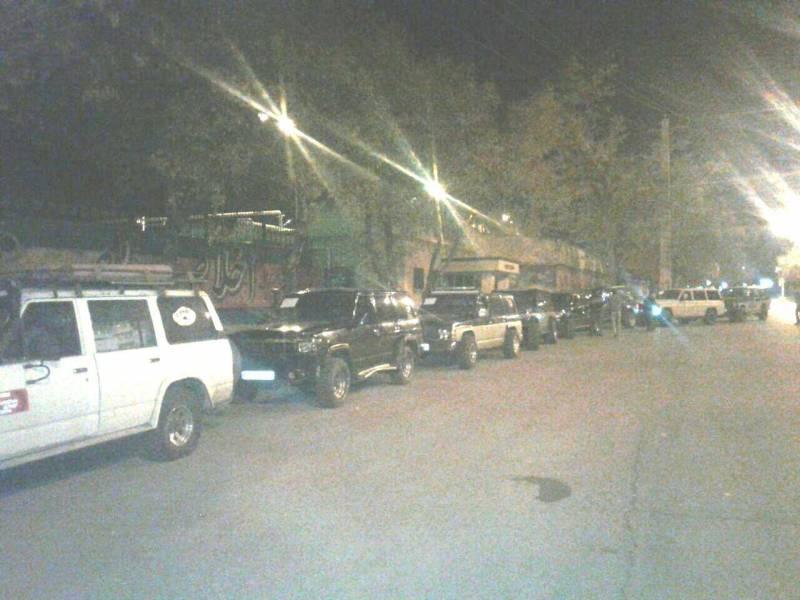 اعزام 30 خودرو دو دیفرانسیل همدان برای امدادرسانی به زلزله زدگان