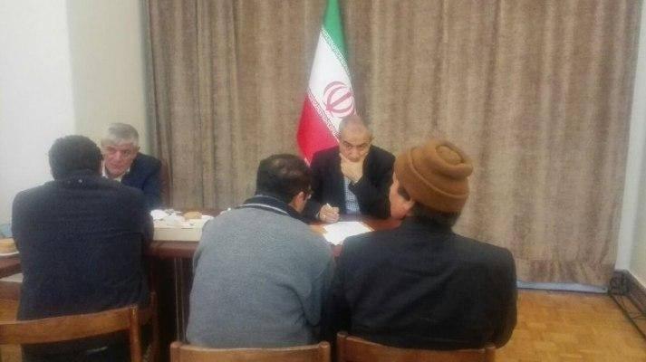 استاندار آذربایجان شرقی پای درد دل مردم نشست