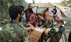 آخرین وضعیت امدادرسانی نیروهای سپاه پاسداران در مناطق زلزلهزده+تصاویر