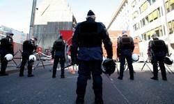 پلیس بلژیک شماری را در پی ناآرامی در بروکسل دستگیر کرد