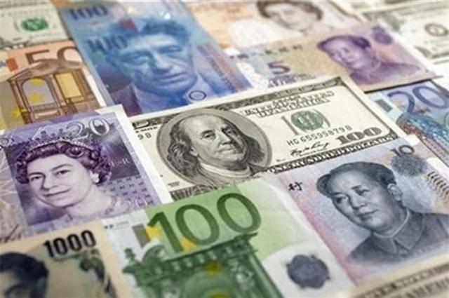 افزایش نرخ دلار و پوند بانکی و افت یورو