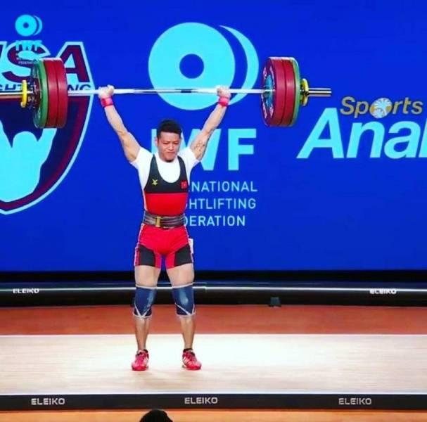 وزنه برداری قهرمانی جهان/طلای وزن های 56 و 62 کیلوگرم به ویتنام و کلمبیا رسید