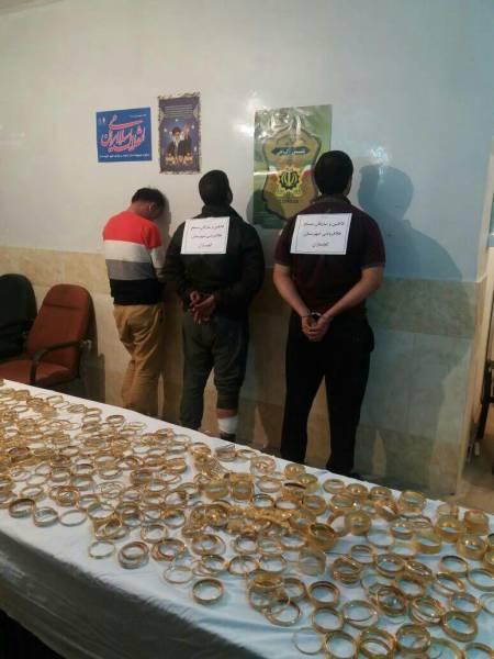 جزئیات دستگیری سارقان طلا فروشی گچساران تشریح شد