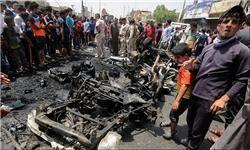 انفجار خودروی بمب گذاری شده در اردوگاه پناهندگان در استان نینوی عراق