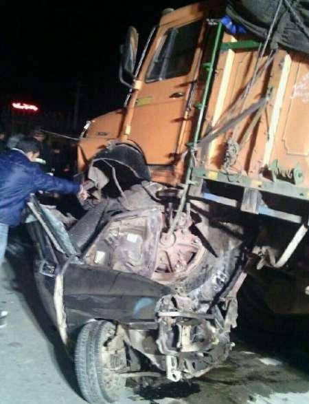 کشته شدن پنج نفر در سانحه رانندگی جاده رباط به طبس