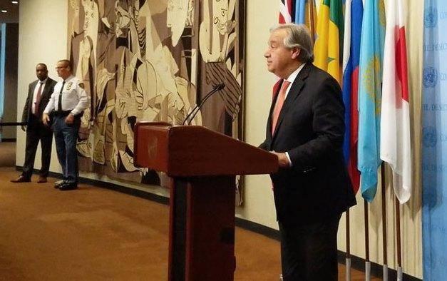 دبیرکل سازمان ملل: با هر موضوعی که صلح خاورمیانه را به خطر اندازد مخالفم
