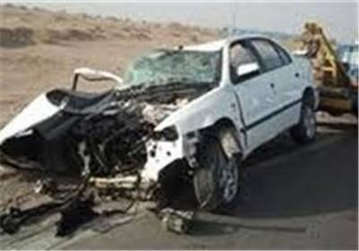 برخورد 2 خودرو در گورت اصفهان 9 نفر را راهی بیمارستان کرد