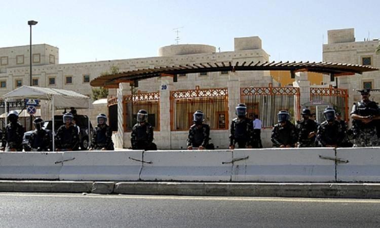 سفارت آمریکا در اردن فعالیت های خود را به حالت تعلیق درآورد