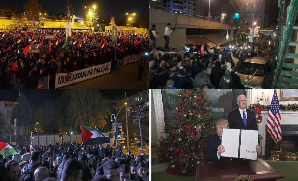 واکنش گسترده جهانی به تصمیم ترامپ در اعلان قدس به عنوان پایتخت صهیونیست ها