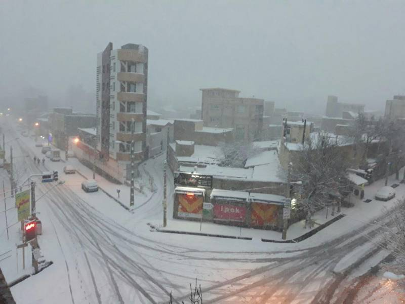 برف و سرما استان اردبیل را فرا گرفت