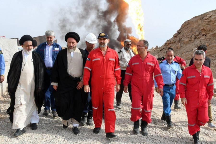 تلاش های صنعت نفت در مهار آتش رگ سفید ستودنی است
