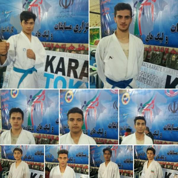 مسابقات قهرمانی کاراته استان قزوین برگزار شد