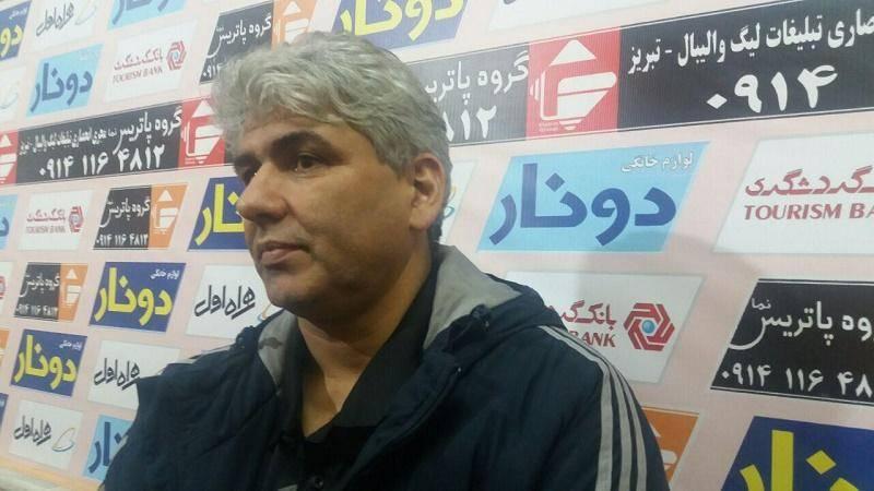 بناکار: حق هواداران والیبال شهرداری تبریز محرومیت نیست