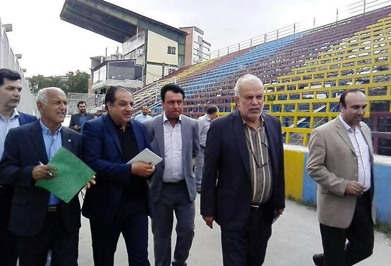 فدراسیون فوتبال خواستار شتاب در تعمیر ورزشگاه تیم نساجی شد