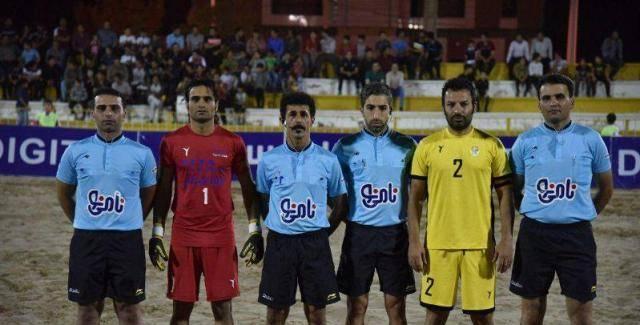 اعلام داوران هفته ۱۳ لیگ برتر فوتبال ساحلی