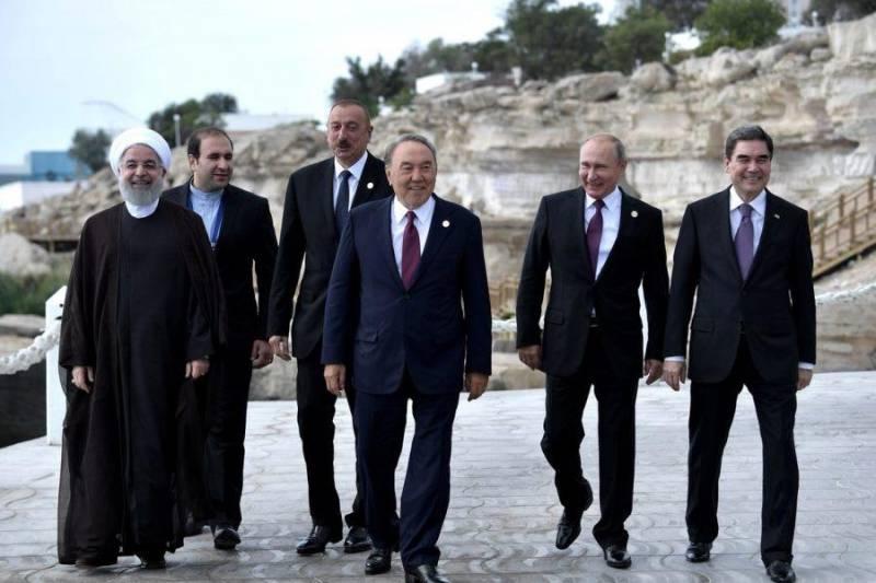 روسیه:امضای کنوانسیون خزر موفقیتی برای پنج کشور است