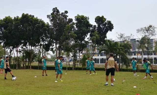 بازی های آسیایی جاکارتا/برگزاری آخرین تمرین تیم امید پیش از دیدار مقابل کره جنوبی