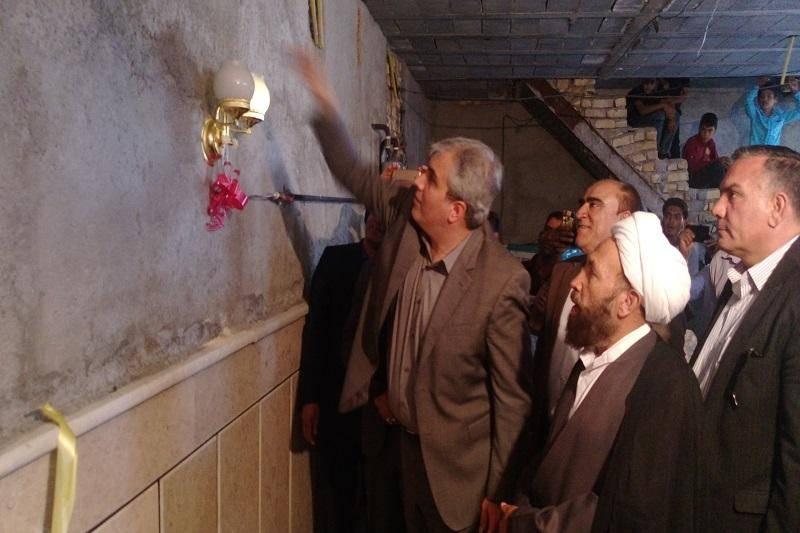 چند طرح عمرانی در داراب به بهره برداری رسید