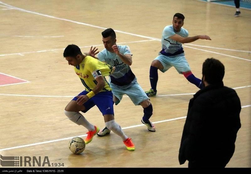 پیروزی ارزشمند مقاومت البرز در لیگ برتر فوتسال
