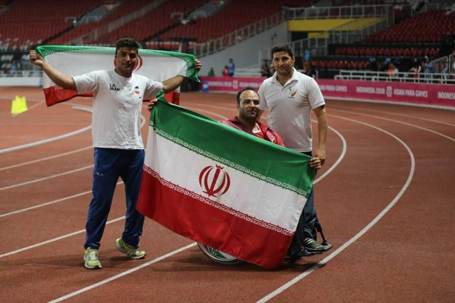نمایندگان ایران مدال های پرتاب نیزه را درو کردند
