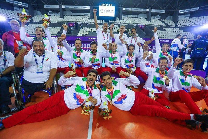 والیبالیست قزوینی طلای بازی های پاراآسیایی را کسب کرد