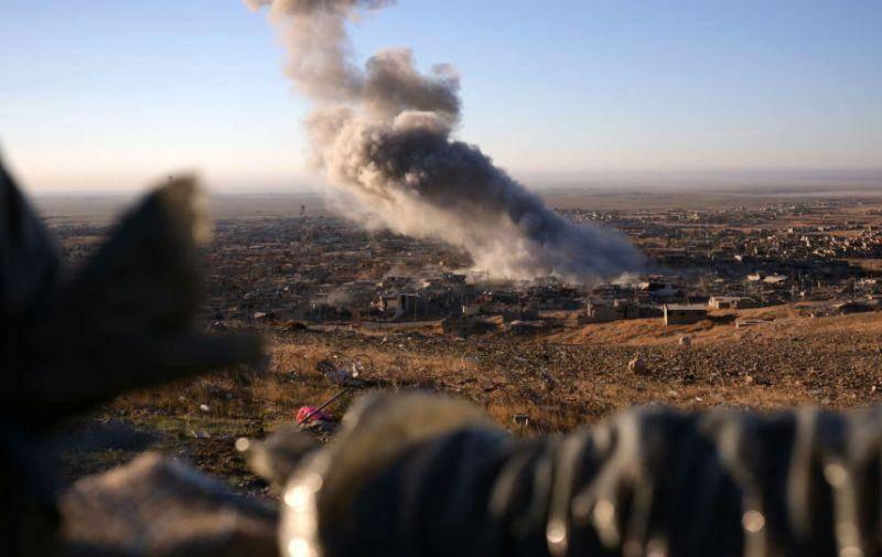 آمریکا نیروهای هم پیمان خود را در سوریه بمباران کرد