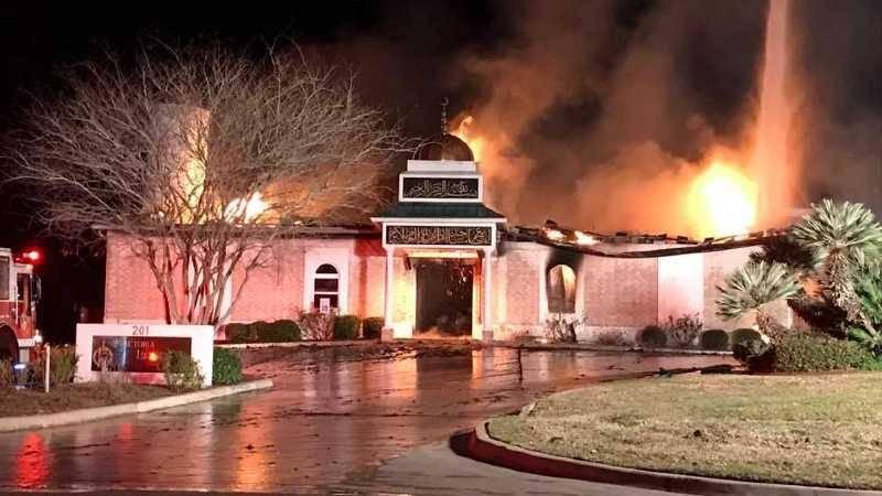عامل آتش سوزی مسجدی در آمریکا به 24 سال زندان محکوم شد