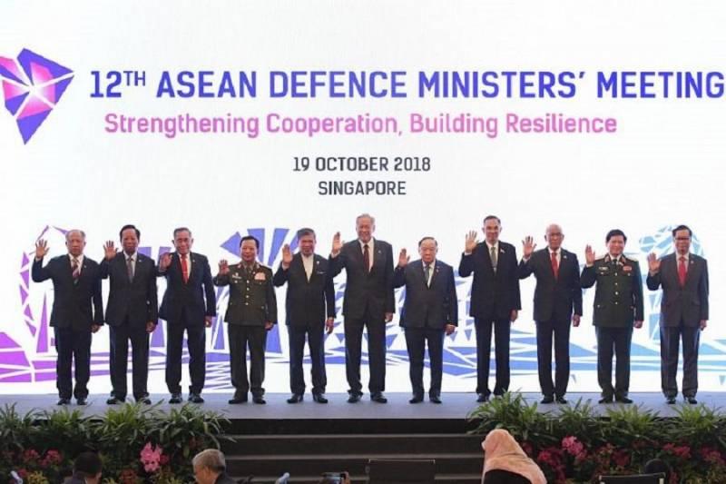 توافق وزیران دفاع آسه آن در مورد اولین کدرفتاری دردریای جنوبی چین
