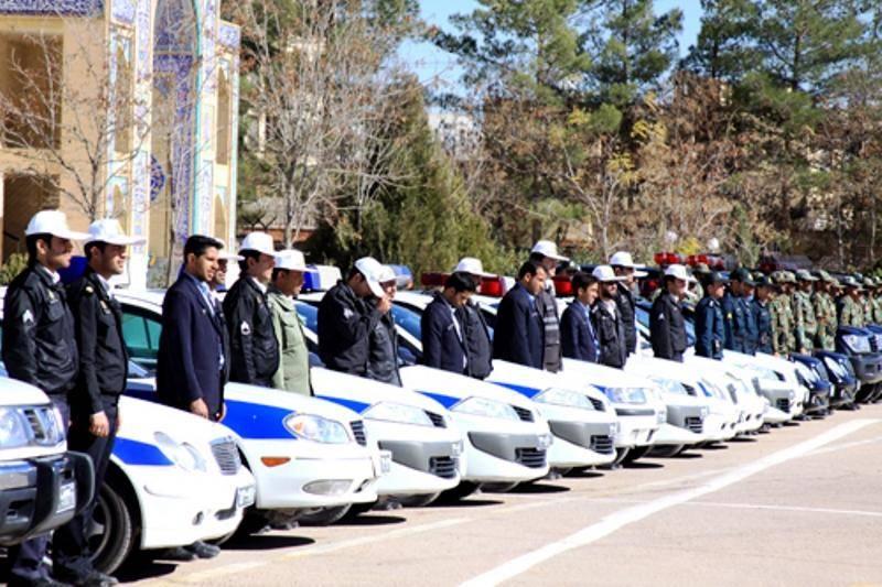 1400 تیم پلیس راهور بر تردد مرزهای سه گانه نظارت دارند