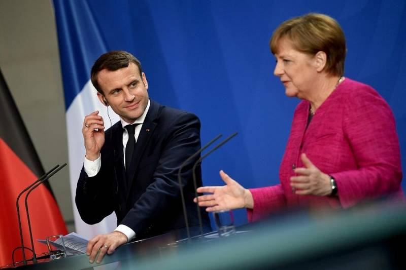 مکرون و مرکل از رویکرد واحد اروپا در مورد ریاض حمایت کردند