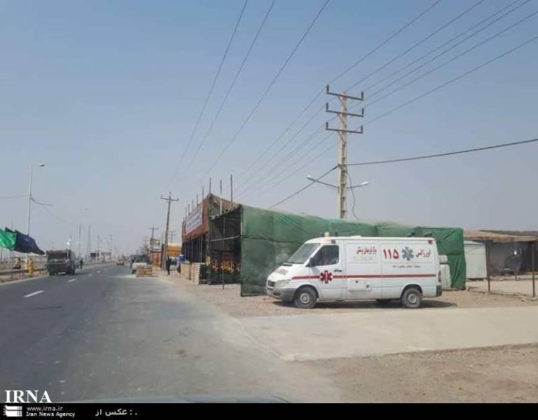 پیکرهای هفت زائر حادثه رانندگی نجف به شلمچه منتقل شدند