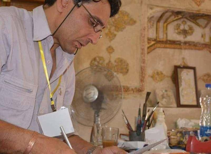 ظریف صنایعی هنرمند آینه کاری فارس درگذشت