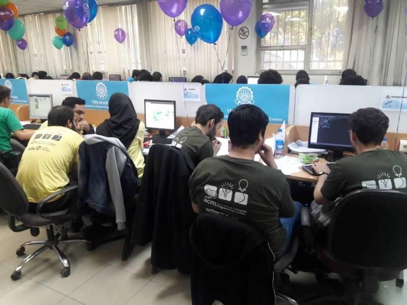 رقابت 65تیم برنامه نویس دانشجویی برای اعزام به مسابقات منطقه ای